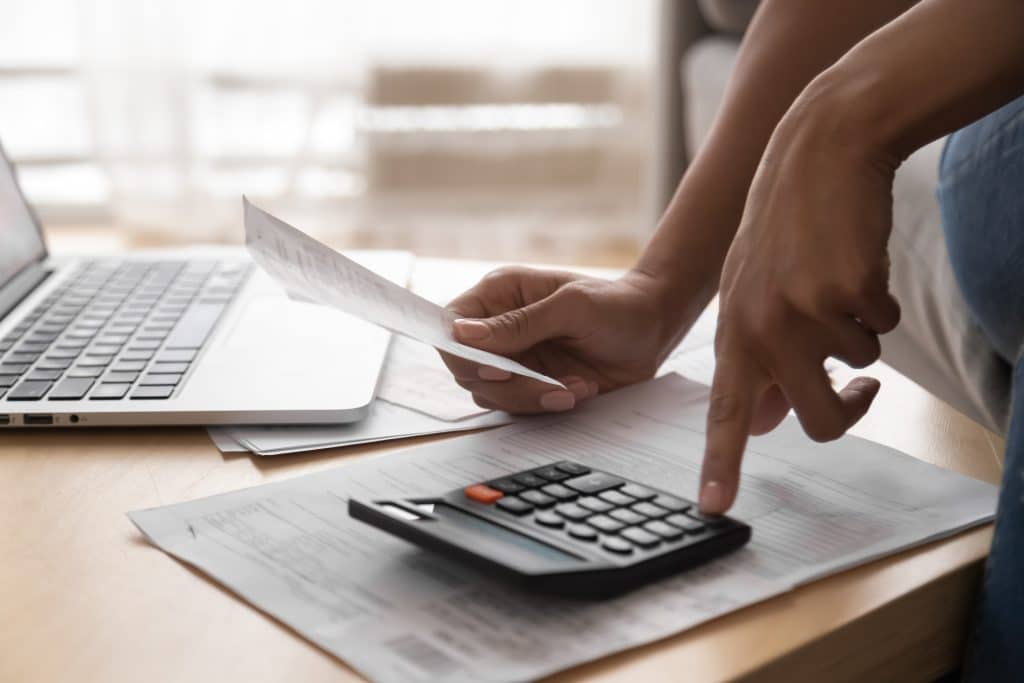 Personal finance statement